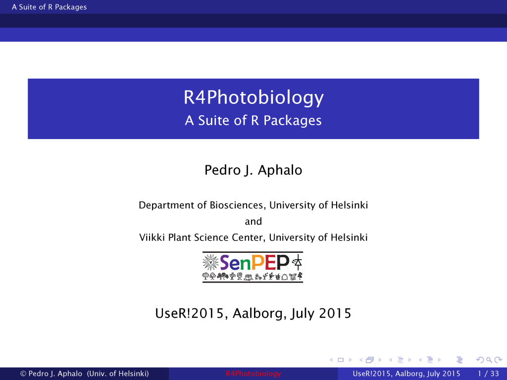 Slide from a short talk presenting the packages to  R users and developers